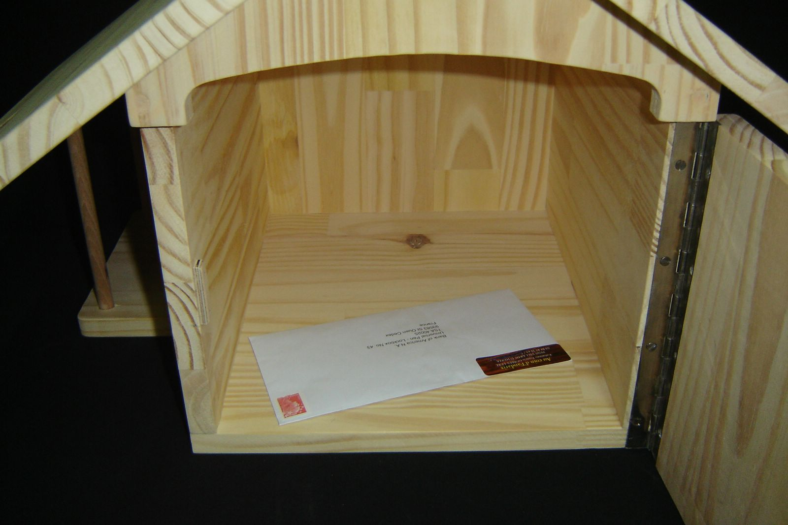 boite aux lettres en bois leroy merlin. Black Bedroom Furniture Sets. Home Design Ideas
