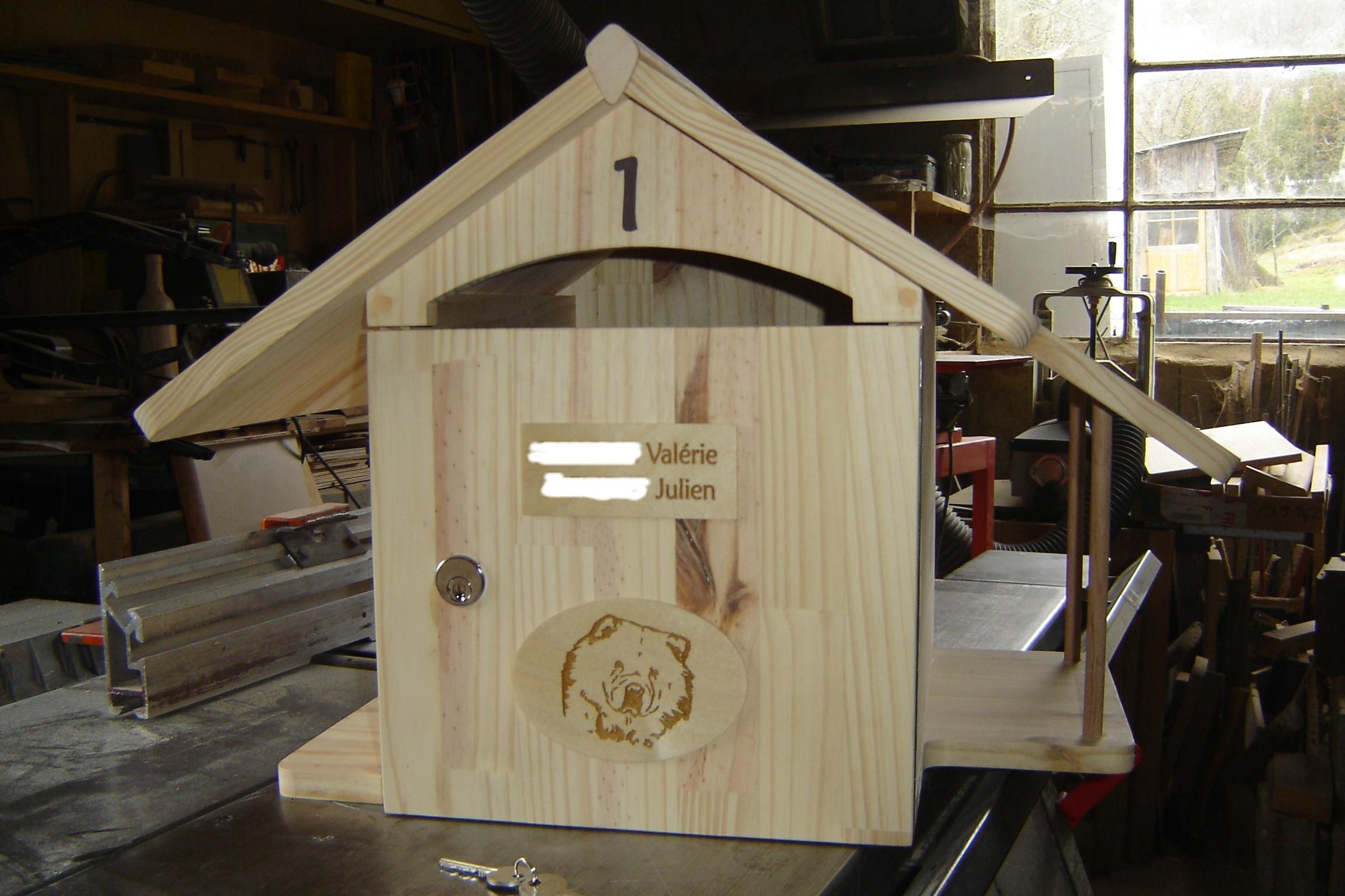 comment avoir une bo te aux lettres originale. Black Bedroom Furniture Sets. Home Design Ideas